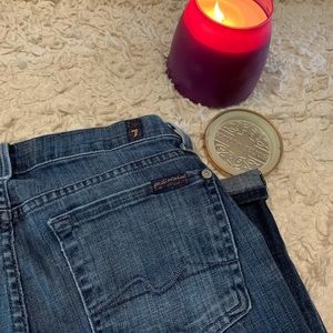 7 straight leg jeans